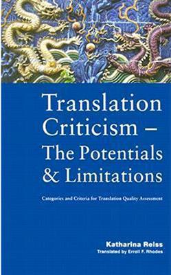 خرید کتاب انگليسی Translation Criticism- Potentials and Limitations