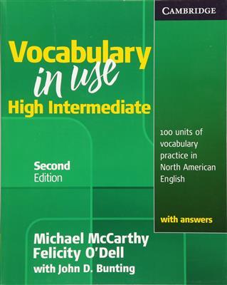 خرید کتاب انگليسی Vocabulary in Use High Intermediate 2nd
