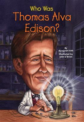 خرید کتاب انگليسی Who Was Thomas Alva Edison