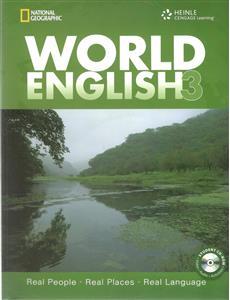 خرید کتاب انگليسی World Emglish 3
