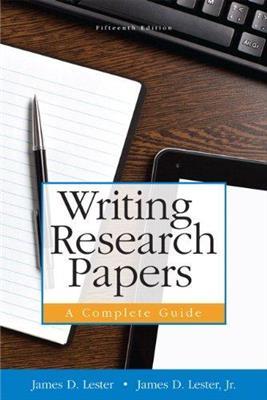 خرید کتاب انگليسی Writing Research Papers 15th-Lester