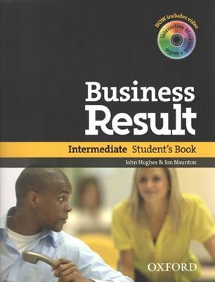 خرید کتاب انگليسی business result intermediate + DVD