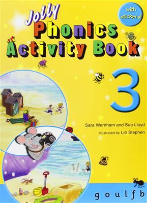 خرید کتاب انگليسی phonics 3 Activity Book
