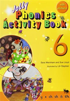 خرید کتاب انگليسی phonics 6 Activity Book