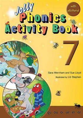 خرید کتاب انگليسی phonics 7A Activity Book