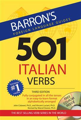 خرید کتاب ایتالیایی 501 Italian Verbes