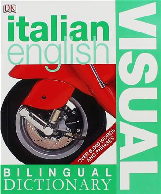 خرید کتاب ایتالیایی Italian English Bilingual Visual Dictionary