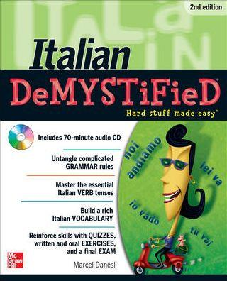 خرید کتاب ایتالیایی Italian deMYSiFieD