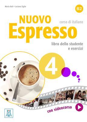 خرید کتاب ایتالیایی Nuovo Espresso 4
