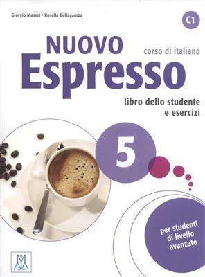 خرید کتاب ایتالیایی Nuovo Espresso 5