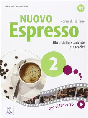 خرید کتاب ایتالیایی Nuovo Espresso: Libro Studente 2 + DVD
