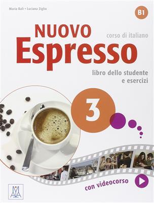 خرید کتاب ایتالیایی Nuovo Espresso: Libro Studente 3 + DVD