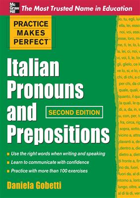 خرید کتاب ایتالیایی Practice Makes Perfect Italian Pronouns And Prepositions