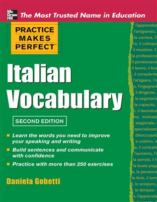 خرید کتاب ایتالیایی Practice Makes Perfect Italian Vocabulary