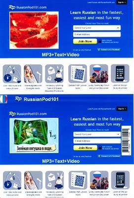 خرید کتاب روسی russian pod 101