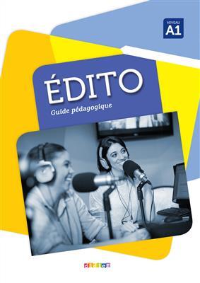خرید کتاب فرانسه کتاب معلم Edito A1 - Guide pédagogique