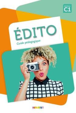 خرید کتاب فرانسه کتاب معلم Edito C1 - Guide pédagogique