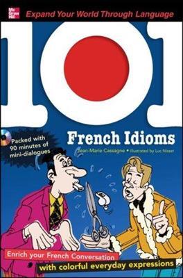 خرید کتاب فرانسه 101 French Idioms + CD