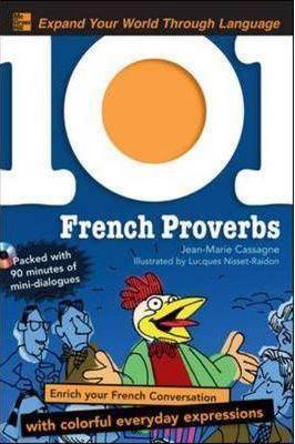 خرید کتاب فرانسه 101 French Proverbs + CD