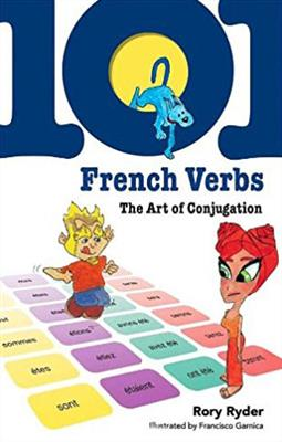 خرید کتاب فرانسه 101 French verbs the art of conjugation
