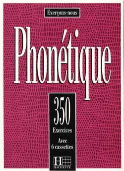 خرید کتاب فرانسه 350 Exercices De Phonetique