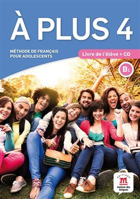 خرید کتاب فرانسه A plus 4