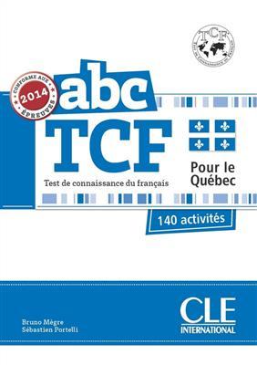 خرید کتاب فرانسه ABC TCF + CD version Quebec