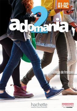 خرید کتاب فرانسه Adomania 2 + Cahier + DVD