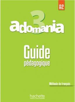 خرید کتاب فرانسه Adomania 3 : Guide pédagogique