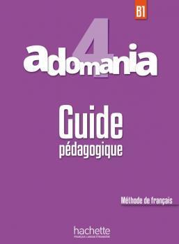 خرید کتاب فرانسه Adomania 4 : Guide pédagogique