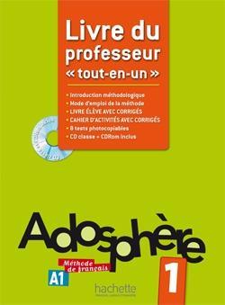 خرید کتاب فرانسه Adosphere 1 - Livre du professeur
