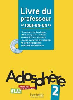 خرید کتاب فرانسه Adosphere 2 - Livre du professeur