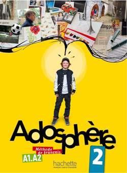 خرید کتاب فرانسه Adosphere 2 + cahier + CD