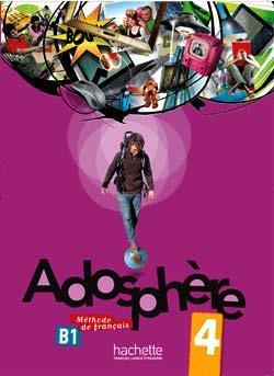 خرید کتاب فرانسه Adosphere 4 + cahier + CD