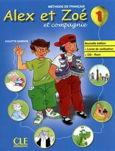 خرید کتاب فرانسه Alex et Zoe 1 - Livre + Cahier + CD Rom