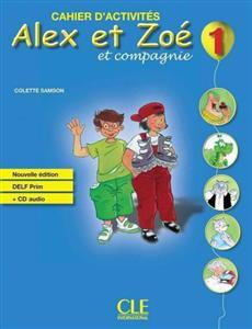 خرید کتاب فرانسه Alex et Zoe - Niveau 1 - Cahier d'activite