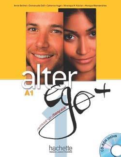 خرید کتاب فرانسه Alter Ego Plus 1 + cahier + CD