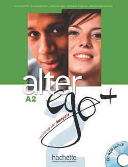 خرید کتاب فرانسه Alter Ego Plus 2 + cahier + CD