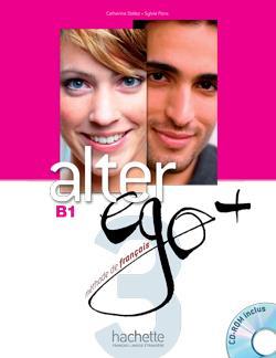 خرید کتاب فرانسه Alter Ego Plus  3 + cahier + CD