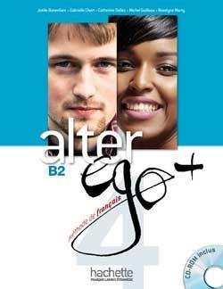 خرید کتاب فرانسه Alter Ego Plus 4 + cahier + CD