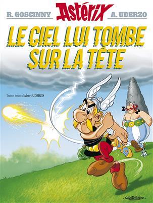 خرید کتاب فرانسه Astérix Tome 33 . Le ciel lui tombe sur la tête