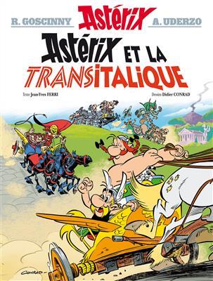 خرید کتاب فرانسه Asterix - Tome 37 : Asterix et la Transitalique