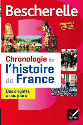 خرید کتاب فرانسه Bescherelle Chronologie de l'histoire de France (edition 2016)