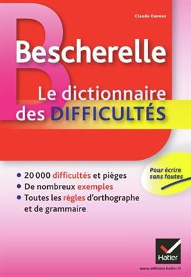 خرید کتاب فرانسه Bescherelle Le Dictionnaire des Difficultes