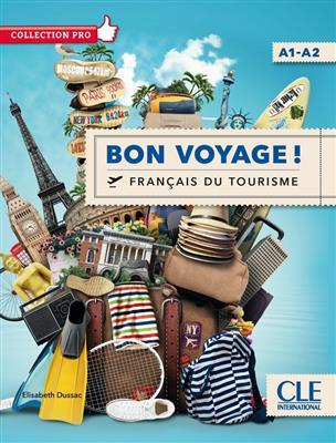 خرید کتاب فرانسه Bon voyage ! - Niveau A1/A2 + DVD