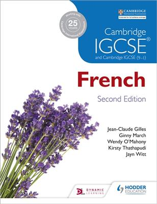 خرید کتاب فرانسه Cambridge IGCSE® French Student Book Second Edition
