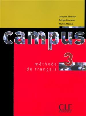 خرید کتاب فرانسه Campus 3 + Cahier + CD