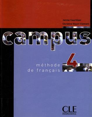 خرید کتاب فرانسه Campus 4 + Cahier + CD
