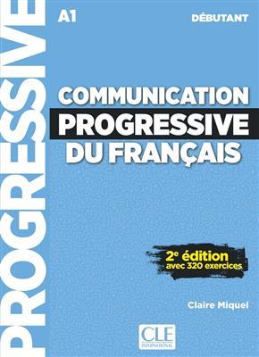 خرید کتاب فرانسه Communication Progressive - debutant + CD - 2eme edition
