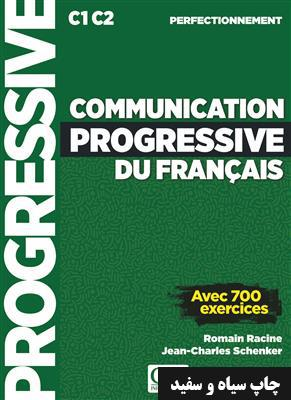 خرید کتاب فرانسه Communication progressive du français - Niveau perfectionnement + CD